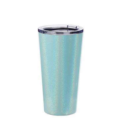 Εικόνα της Tumbler 16oz - BLUE SPARKLING with Clear Cup