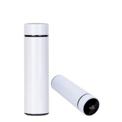 Εικόνα της Thermo Flask 450ml (WHITE) with Temperature Display