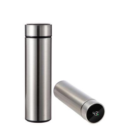 Εικόνα της Thermo Flask 450ml (SILVER) with Temperature Display