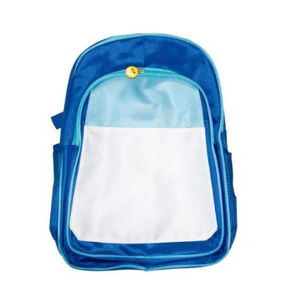 Picture of KIDS BACKPACK (BLUE blue) 41x30x15cm