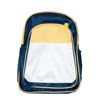 Picture of KIDS BACKPACK (BLUE yellow) 41x30x15cm