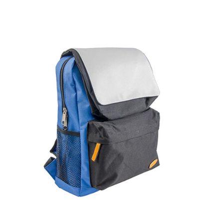 Picture of KIDS SCHOOL BAG - BLUE with BLACK pocket