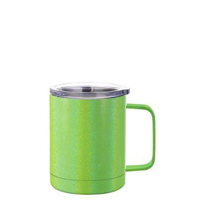 Εικόνα της Stainless Steel Mug 10oz - GREEN sparkling with Handle