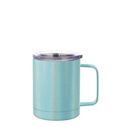 Εικόνα της Stainless Steel Mug 10oz - BLUE sparkling with Handle