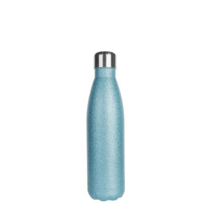 Picture of Bowling Bottle 500ml (Glitter Blue Light)