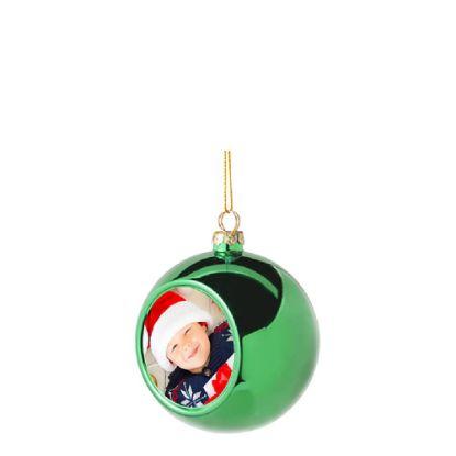 Εικόνα της XMAS - BALL 8cm/GREEN