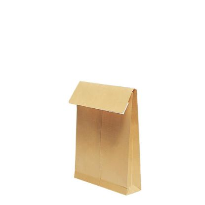 Εικόνα της Pocket Envelopes Kraft 130gr. (229x324mm) side gusset 5cm