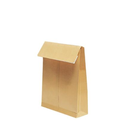 Εικόνα της Pocket Envelopes Kraft 130gr. (280x365mm) side gusset 7cm