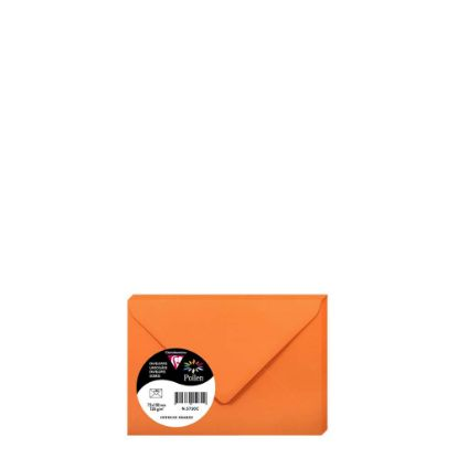 Εικόνα της Pollen Envelopes 75x100mm (120gr) ORANGE INTENSIVE