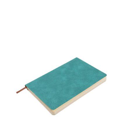 Εικόνα της PU Leather GREEN notebook (A5) 14.5x21cm