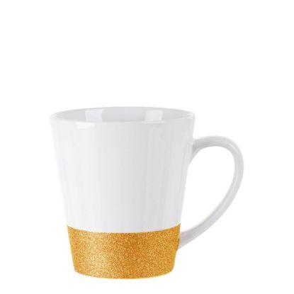 Εικόνα της MUG 12oz LATTE (GLITTER) GOLD bottom